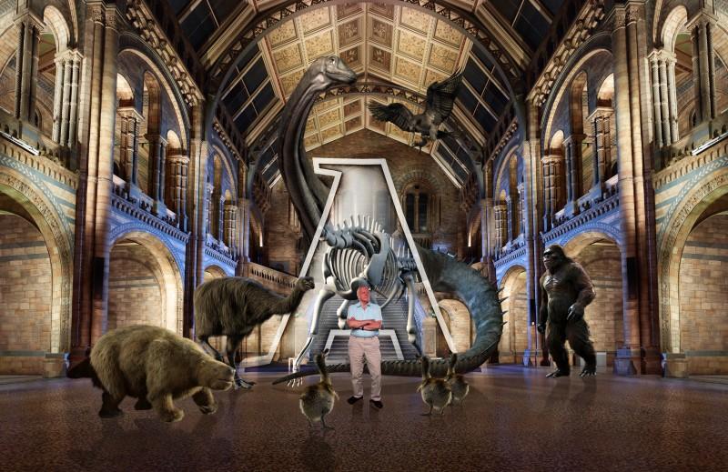David Attenborough NHM ALIVE